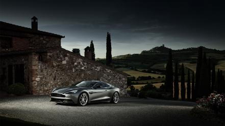 Aston martin silver cars Wallpaper