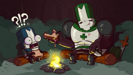 Castle crashers video games Wallpaper