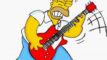 Htc homer simpson funny guitars Wallpaper
