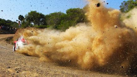 Rallye wrc cars dust racing wallpaper