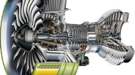 Airbus a380 cutaway engine schematic turbine Wallpaper