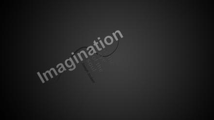 Citation joseph joubert eyes imagination minimalistic wallpaper