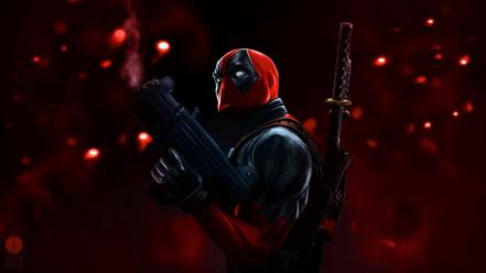 Deadpool wade wilson marvel comics artwork wallpaper