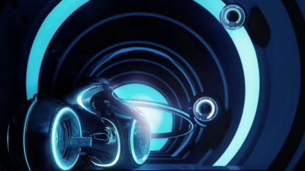 Tron legacy digital art movies science fiction Wallpaper