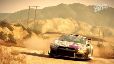 Dirt 2 video game drifting cars games rally wallpaper