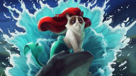 little mermaid tsaoshin artwork