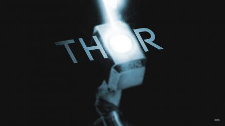 Marvel comics mjolnir thor glowing hammer Wallpaper
