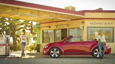 Vw beetle cars convertible vehicles wallpaper