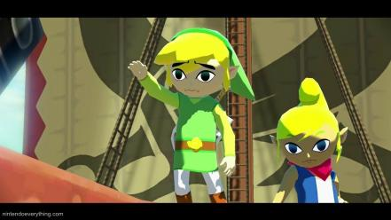 Zelda: wind waker wii u video games Wallpaper