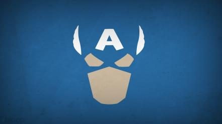 America superheroes marvel comics blue background blo0p wallpaper
