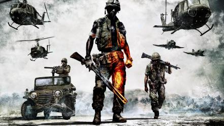 Army viet nam battlefield bad company 2 Wallpaper