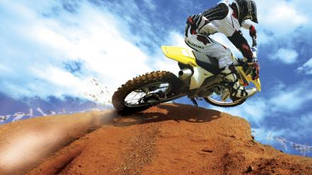 Crazy Motocross Bike wallpaper