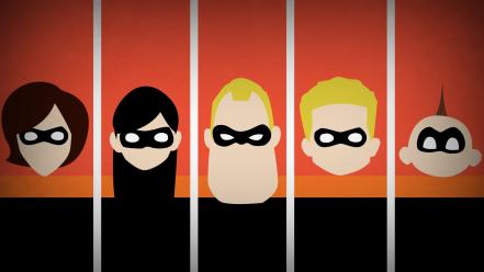 Disney company superheroes the incredibles blo0p Wallpaper