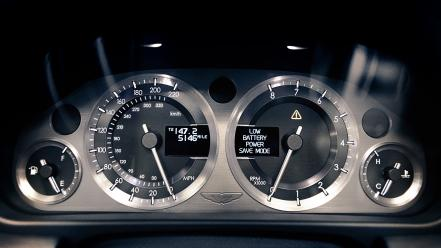 Interior dashboards speedo db9 speed rev counter wallpaper