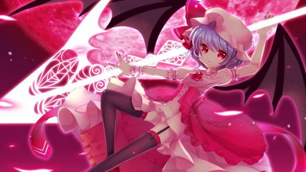 Video games touhou remilia scarlet wallpaper