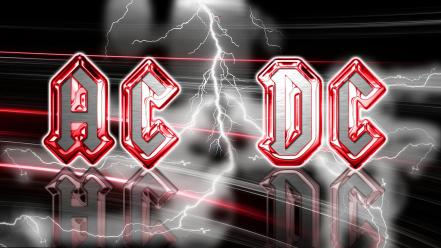 Acdc heavy metal rock music digital art multiscreen wallpaper