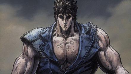Fist of the northstar ken shiro wallpaper
