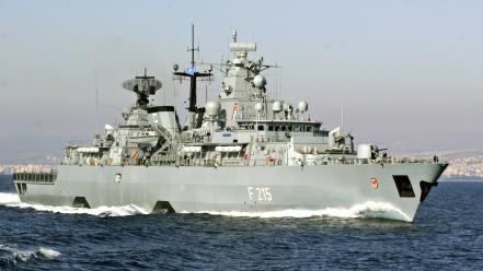 Brandenburg german frigate navy ships wallpaper