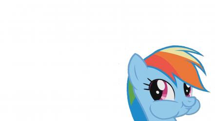Friendship is magic rainbow dash simple background wallpaper