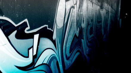 Artistic graffiti streetart Wallpaper