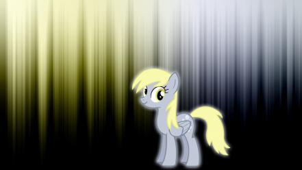 Derpy hooves my little pony glow wallpaper