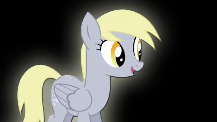 Derpy hooves my little pony happy wallpaper