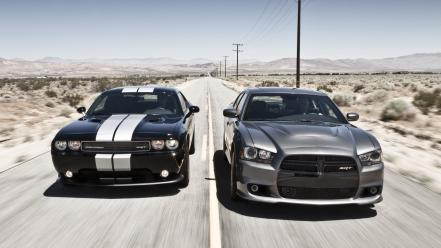 Dodge challenger srt8 charger cars muscle wallpaper