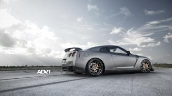 1 gtr r35 gt-r adv1 wheels gtr35 Wallpaper