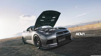 1 gtr r35 gt-r adv1 wheels skyline Wallpaper