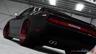 360 dodge challenger srt8 forza motorsport 4 wallpaper