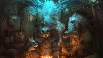 Afghanistan fantasy art spirit digital artwork anthro wallpaper