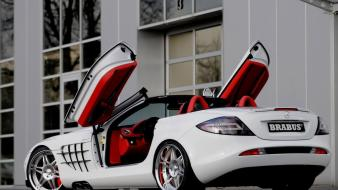 Cars brabus mercedes slr wallpaper