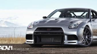 Cars nissan adv 1 gtr adv1 wheels wallpaper