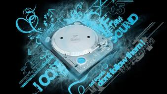 Disk Jockey Sound wallpaper
