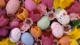 Easter Pastels Wallpaper