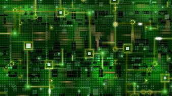 Green Electronics wallpaper