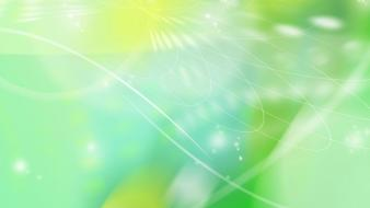 Green Vectors wallpaper