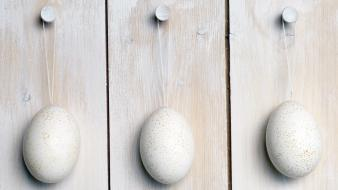 Hanging Easter Eggs wallpaper