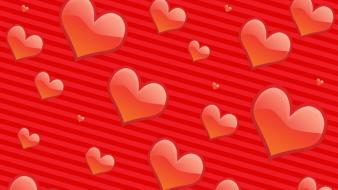 Hearts And Stripes wallpaper