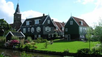 Holland villages the netherlands Wallpaper