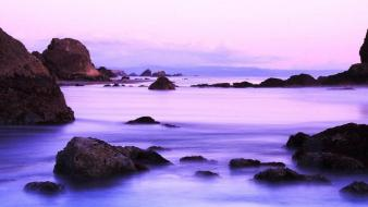 Landscapes coast rocks wallpaper