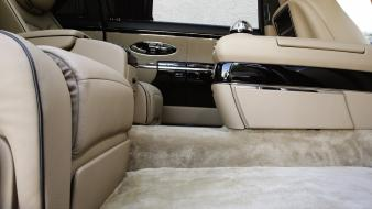 Leather cars zeppelin maybach car interiors 2010 luxury wallpaper