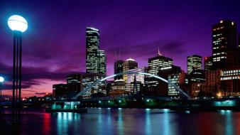 Melbourne Sunset wallpaper