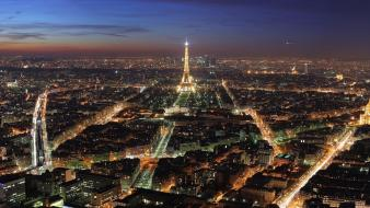 Paris Night Lights wallpaper