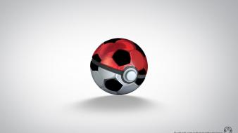 Pokemon soccer balls pokeball Wallpaper