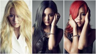 Qri park jiyeon hyomin south three girls wallpaper