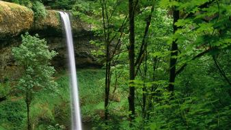 Silver falls state park wallpaper
