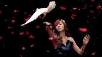 Snsd asians korean jessica jung k-pop dove Wallpaper