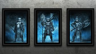 Star wars samurai frames artwork wallpaper