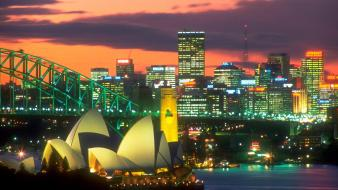 The Lights Of Sydney wallpaper
